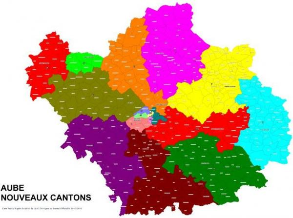 Aube cantons