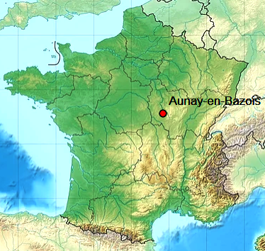 Aunay en bazois 58 geo