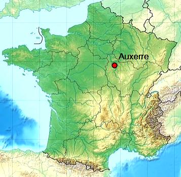 Auxerre 89 geo