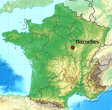 Bazoches 58 geo