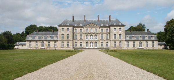 Bertangles somme le chateau de clermont tonnerre