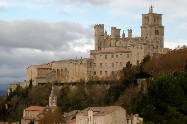 Beziers herault la cathedrale saint nazaire et saint celse