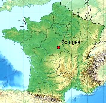Bourges 18 geo
