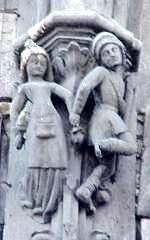 Bourges 18 la maison de la reine blanche decor
