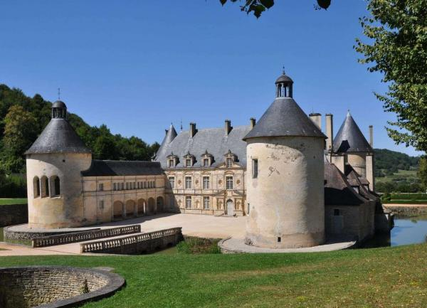 Bussy le grand cote d or le chateau de bussy rabutin