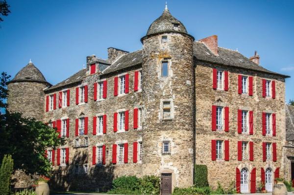 Camjac aveyron le chateau du bosc de toulouse lautrec