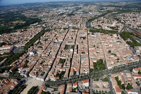 Carcassonne aude la bastide saint louis