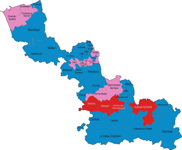 Carte du nord et des cantons 2015 1