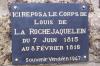 Cenotaphe de louis de la rochejaquelein