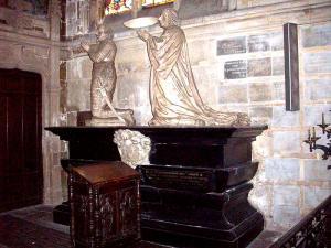 Cenotaphe orants de charles et pierre de becdelievre 1