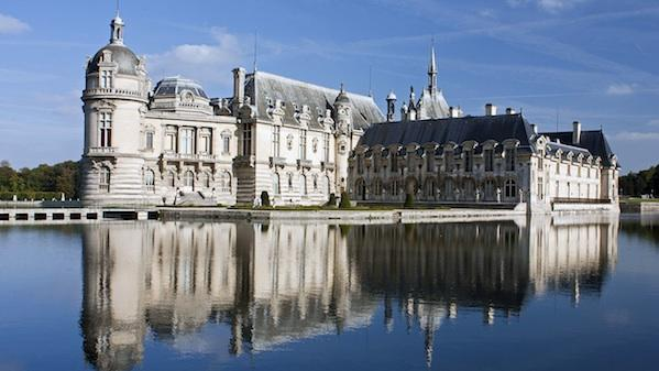 Chantilly oise le chateau