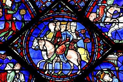 Chartres 28 vitrail