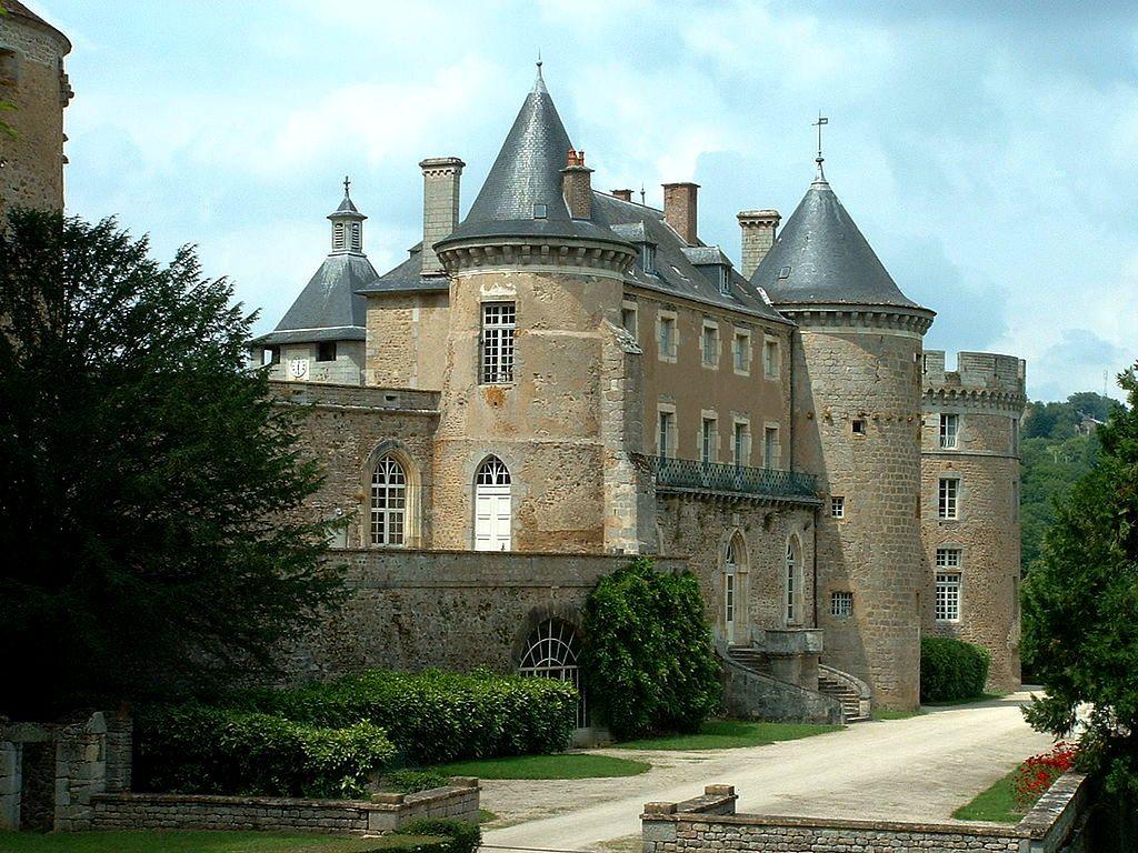 Chastellux yonne le chateau