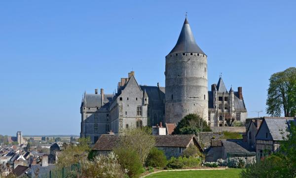 Chateaudun eure et loir le chateau