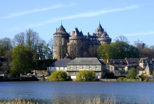 Combourg ille et vilaine le chateau de chateaubriand
