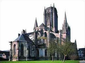 Coutances manche la cathedrale notre dame
