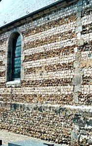 Criquebeuf en caux seine maritime murs de l eglise