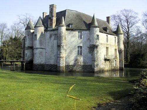 Estrees blanche pas de calais le chateau de creminil