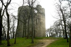 Etampes essone le chateau feodal la tour guinette
