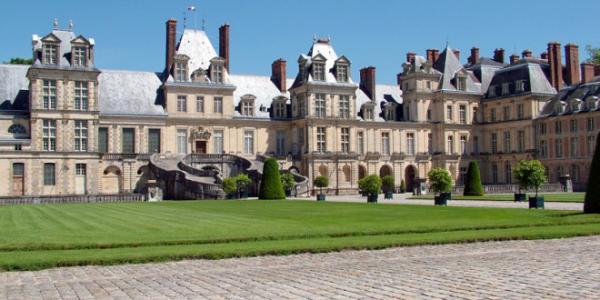 Fontainebleau seine et marne le chateau