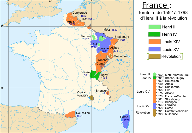 France 1552 1798