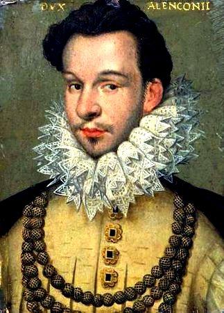 Francois de france duc d alencon 1555 1584