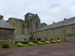 Hambye manche l abbaye