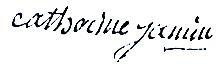 Jamin catherine 1849