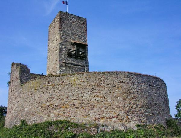 Katzenthal haut rhin le chateau de wineck