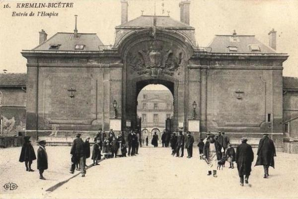Kremlin bicetre val de marne l hospice cpa