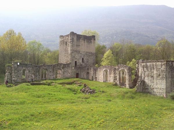 Le bourget du lac savoie le chateau de thomas ii