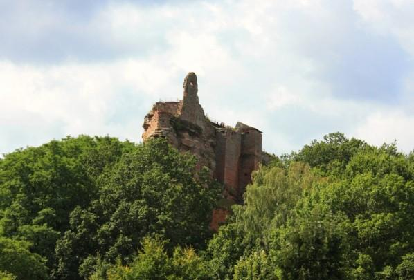 Lembach bas rhin le chateau de fleckenstein