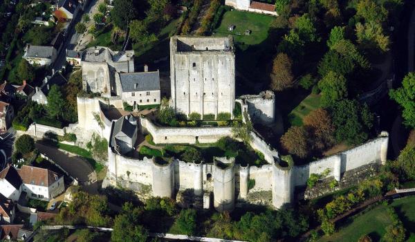Loches indre et loire le chateau 1