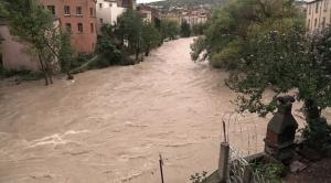 Lodeve herault les inondations 2015