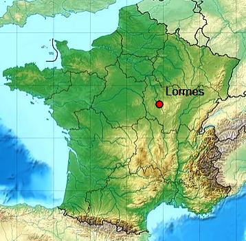 Lormes 58 geo