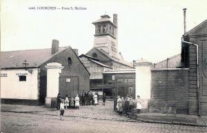 Lourches nord la fosse saint mathieu cpa vers 1900