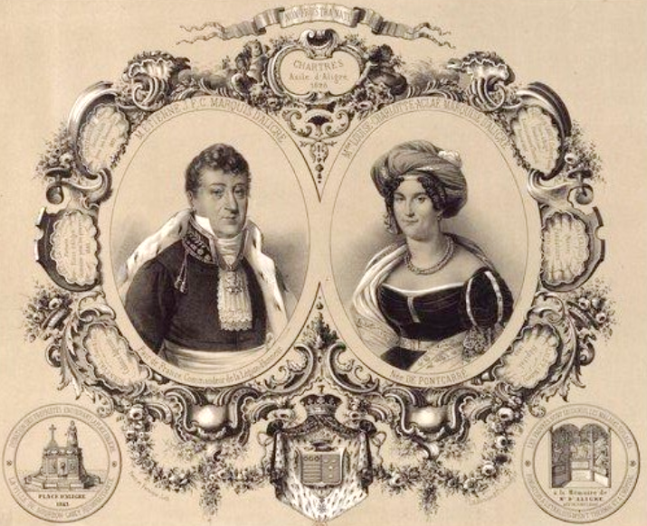 Marquis et marquise d aligre