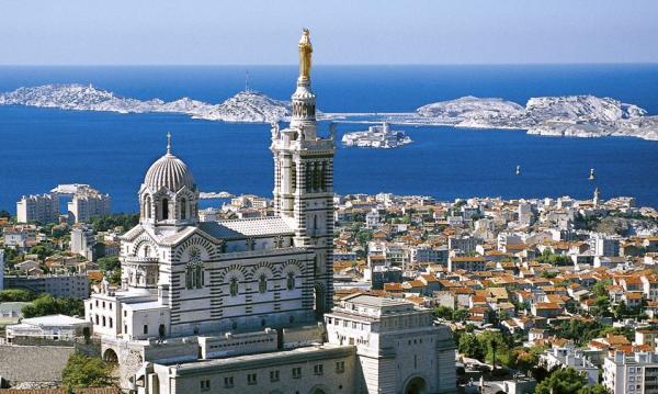 Marseille bouches du rhone notre dame de la garde