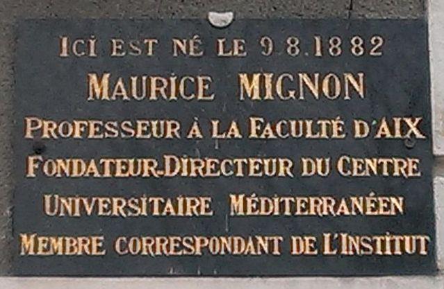 Maurice mignon 1882 1962