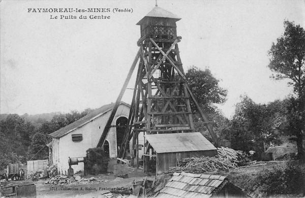 Mine de faymoreaux le puits du centre