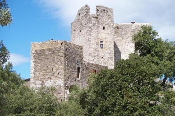 Molieres sur ceze gard le chateau de montalet