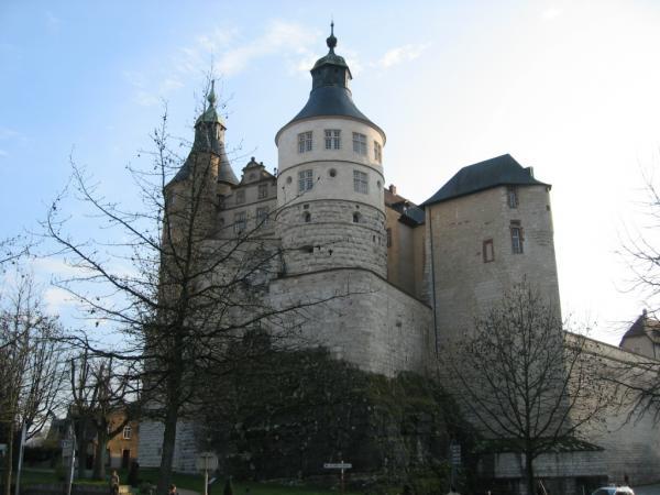 Montbeliard doubs le chateau