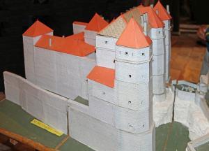 Montfort cote d or le chateau maquette