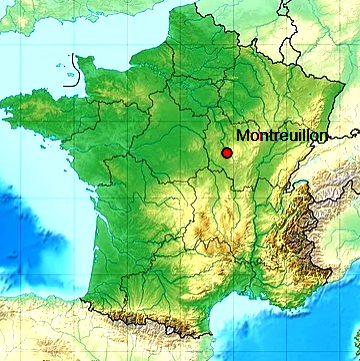 Montreuillon map