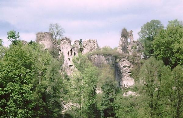 Morimont haut rhin le chateau