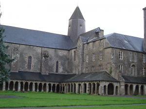 Mortain manche l abbaye blanche