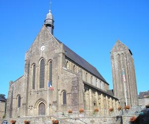Mortain manche la collegiale saint evroult