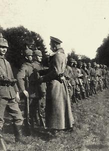 Mouzay meuse charmois la parade de 1916
