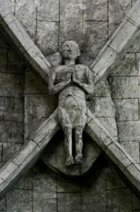 Mur de barrez aveyron le gisant de l eglise saint thomas de canterbury