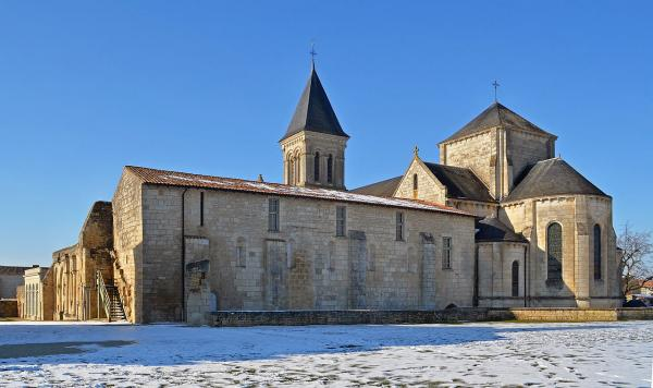 Nieul sur l autise vendee l abbaye saint vincent